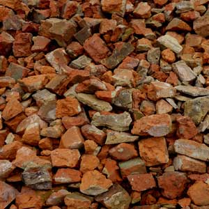 Crushed bricks in Melbourne
